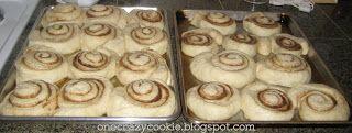 One Crazy Cookie: Grandma's Overnight Cinnamon Rolls