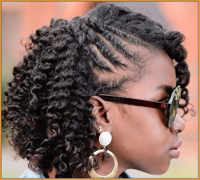 Super Cute Braiding Styles For Natural Hair Hair Style Short Hairstyles For Black Women Fulllsitofus