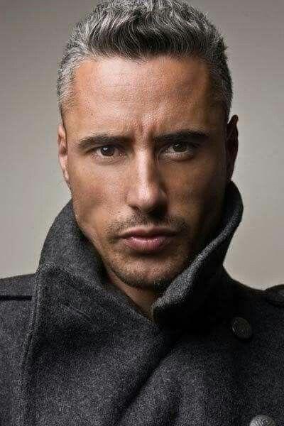 Trendy mens cut | haircut in 2019 | Grey hair men, Grey hair model, Hair styles