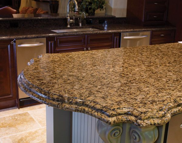 Gold Granite Countertops | Butterfly Gold Granite Countertop (930),  Butterfly Gold, Chantilly .