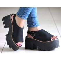 Sandalias Zapatos Plataforma Alta Mujer Verano Moda 2017  454717d144db