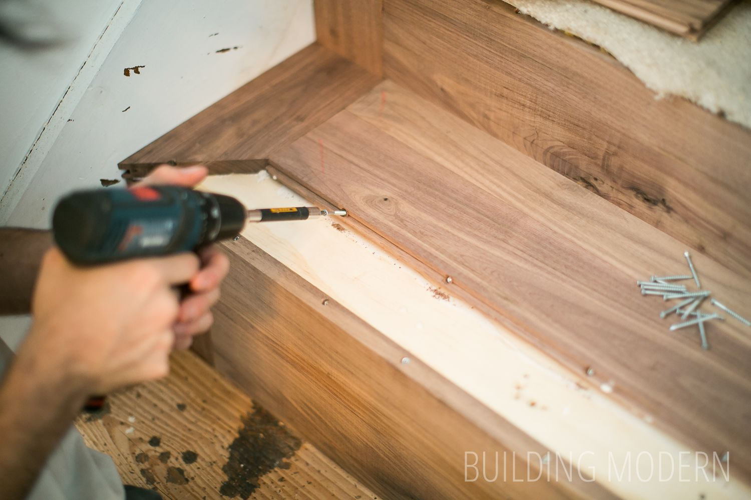 Best How To Install Hardwood On Stairs Diy Stairs Hardwood Stairs Diy Renovation 400 x 300