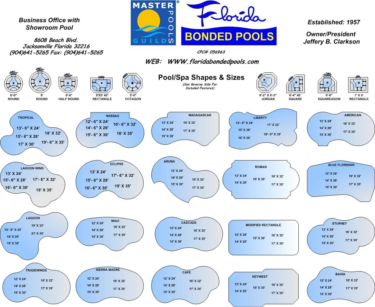 Pool shapes pool ideas pinte Swimming pool shapes and designs