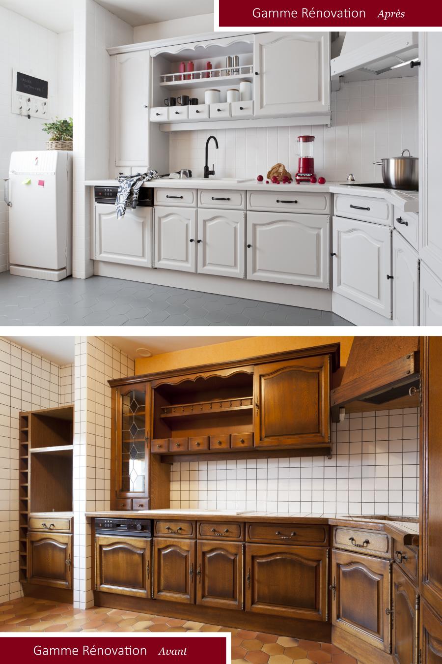 Renover L Integralite De Votre Cuisine Avec Les Peintures De La Gamme Renovation V33 V33 Renovation Meuble Cuisine Peinture Meuble Cuisine Renovation Cuisine