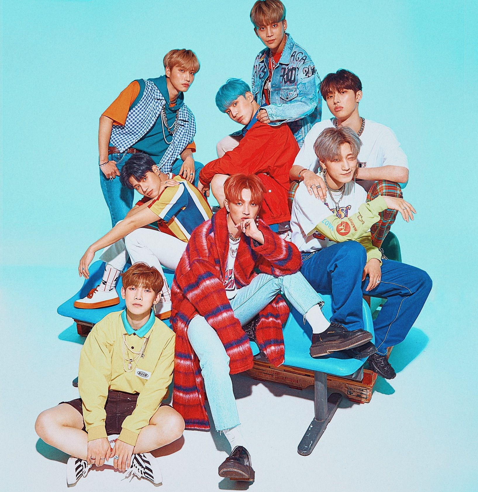 ATEEZ PHOTOSHOOT Kpop guys, Woo young, Pop