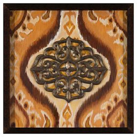 Picture Of 18 X 18 In Medallion Studio Art. Bathroom CleaningFramed Wall ...