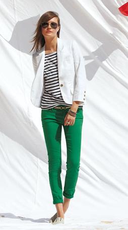 green women pants - Pi Pants