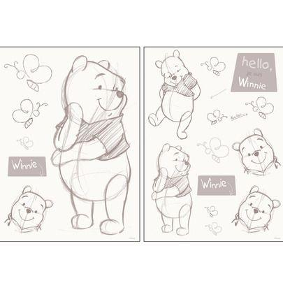 Chambre Blanche Stickers Avec Images Stickers Winnie Winnie