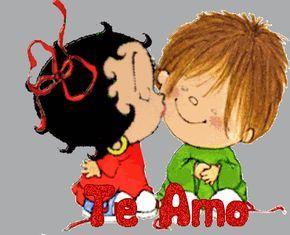 Betty Boop Te Amo Jorgelina Pinterest Love Boop Gif Y Betty Boop