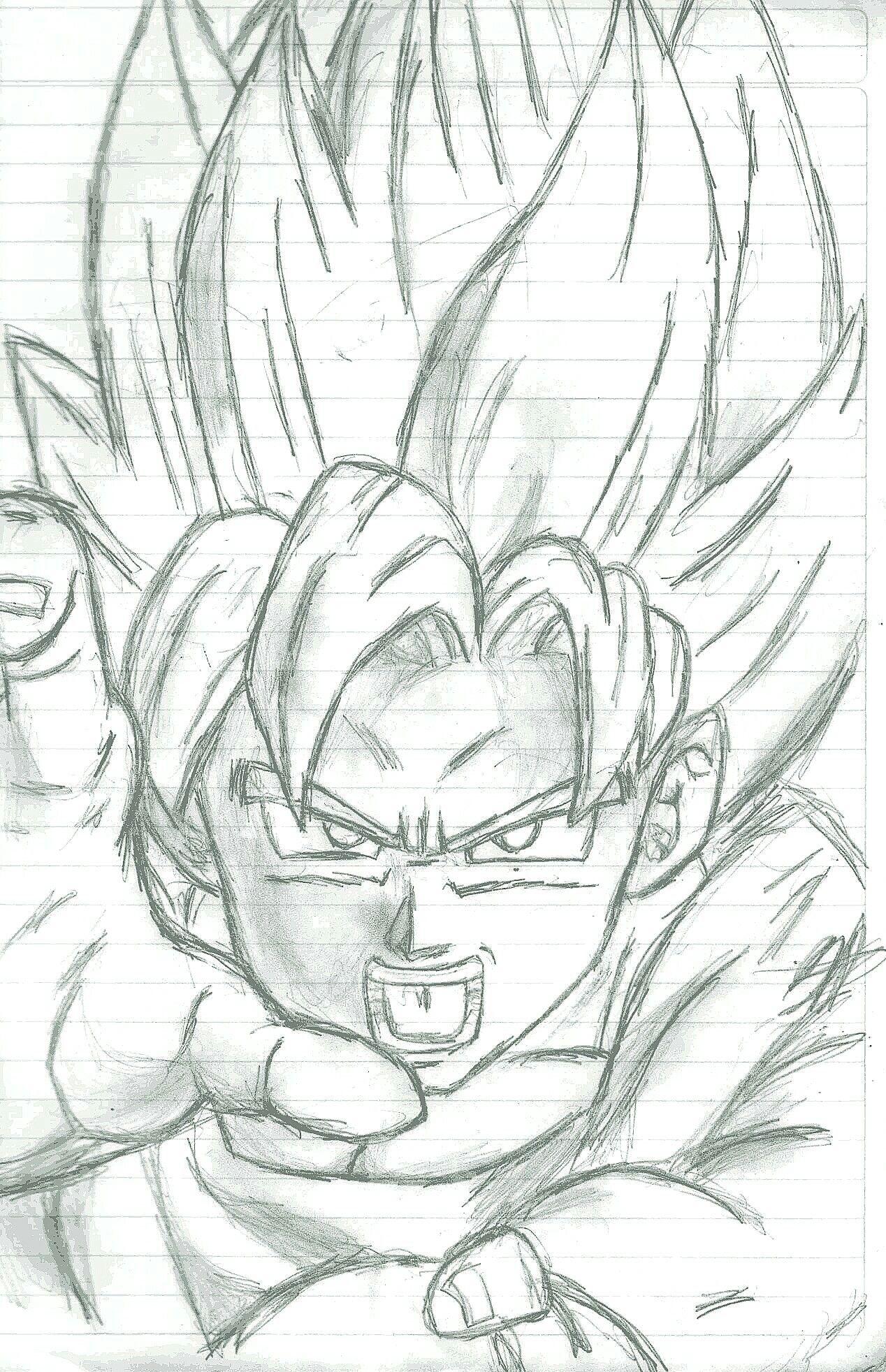 Goku Dibujo Dibujos Locos Dibujos Locos Dibujos Y Locos