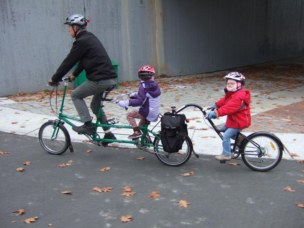 Piccolo Trailercycle On Tandem Burley Bike Kids Cute Tandem Bike Bike Burley