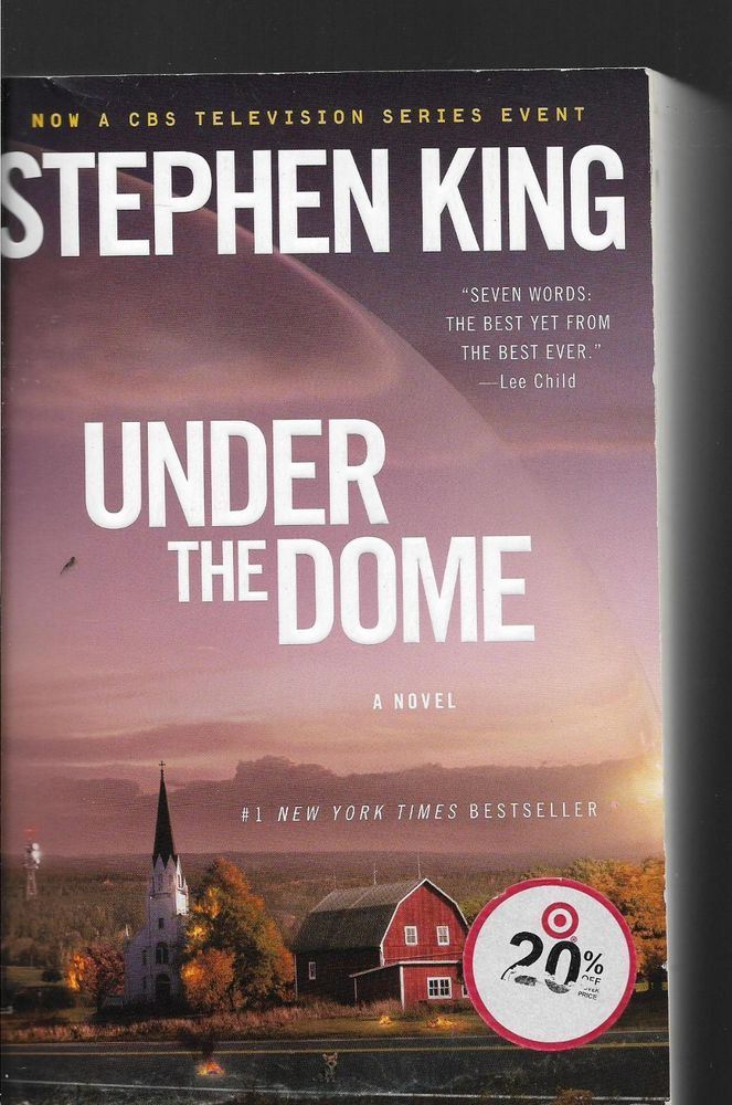 Under The Dome Stephen King Softcover Under The Dome Stephen King Books
