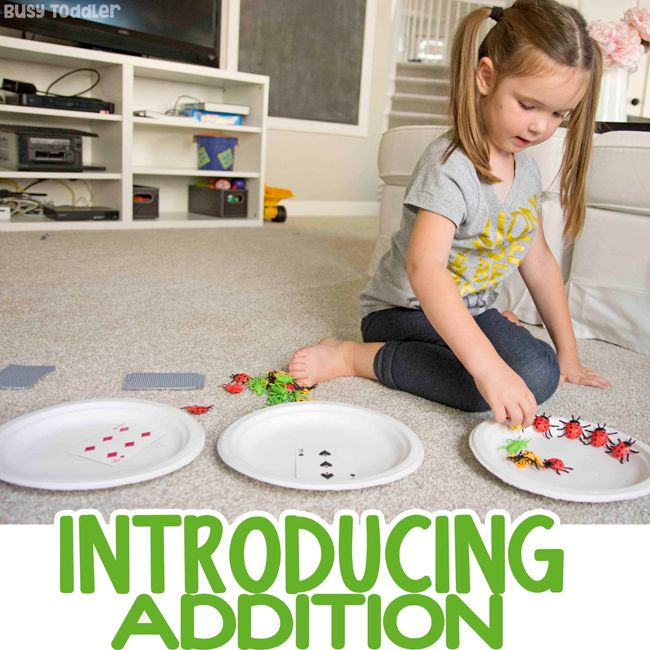 Introducing Addition the Hands-On Way   Teaching addition ...