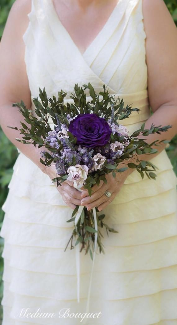 Dusty Purple Flower Crown Plum Lavender and Lilac Dried Wedding Flower Crown The Evie Jane Collection
