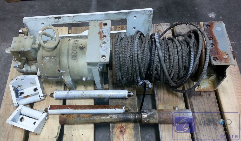Winch Capstan Recovery Braden for Utility Trucks Cranes Tow