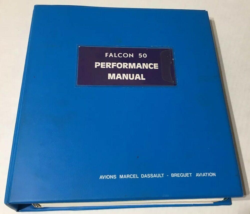 Dassault Falcon 50 Performance Manual Take-Off Cruise