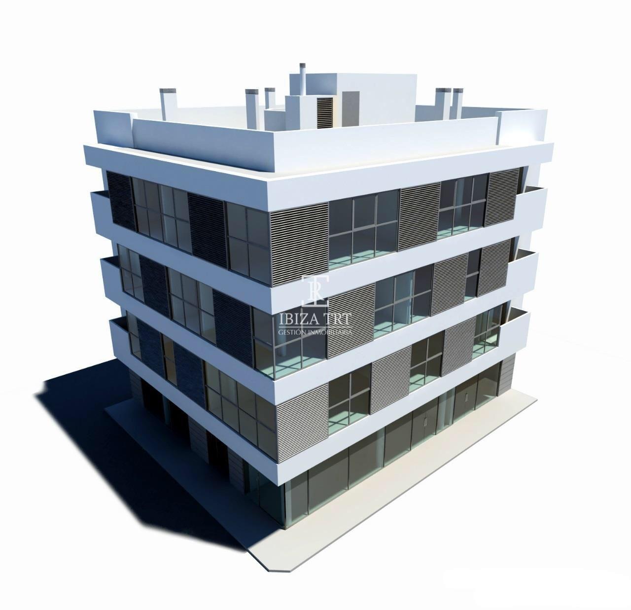 Promocion De 6 Amplias Viviendas De Nueva Construccion En El Centro De San Antonio La Promocion En Construccion Piso En Venta Nueva Construccion Inmobiliaria