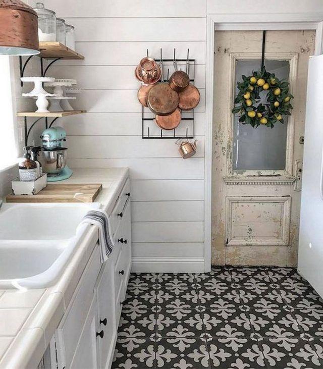 remarkable farmhouse kitchen decor | 90+ Remarkable Farmhouse Kitchen Ideas on A Budget ...