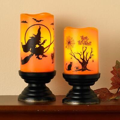 Halloween LED Candle Set: $29.99