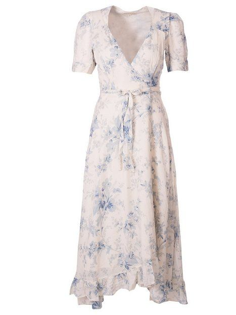 Wrap Tie Short Sleeve Dress