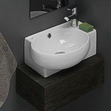 Alfi Brand Wall Mounted Bathroom Sink Wayfair Ceramic Bathroom Sink Corner Sink Bathroom Wall Mounted Bathroom Sinks