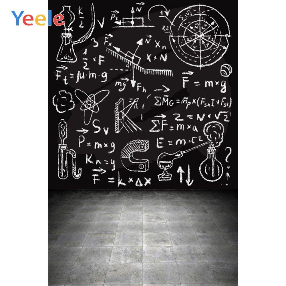 Yeele Back To School Students Portrait Photographic Backgrounds Writing Blackboard Photography Backd