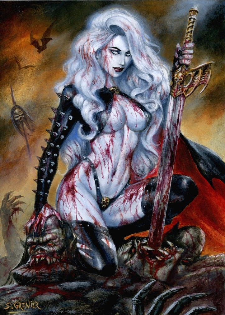 Pin By Felipe On Hel Fantasy Art Women Dark Fantasy Art Lady Death