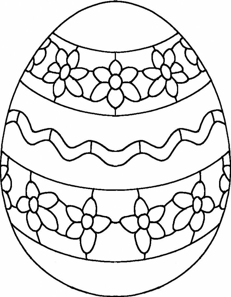 Detailed Easter Egg Coloring Pages Coloring Eggs Easter Egg Designs Easter Egg Printable