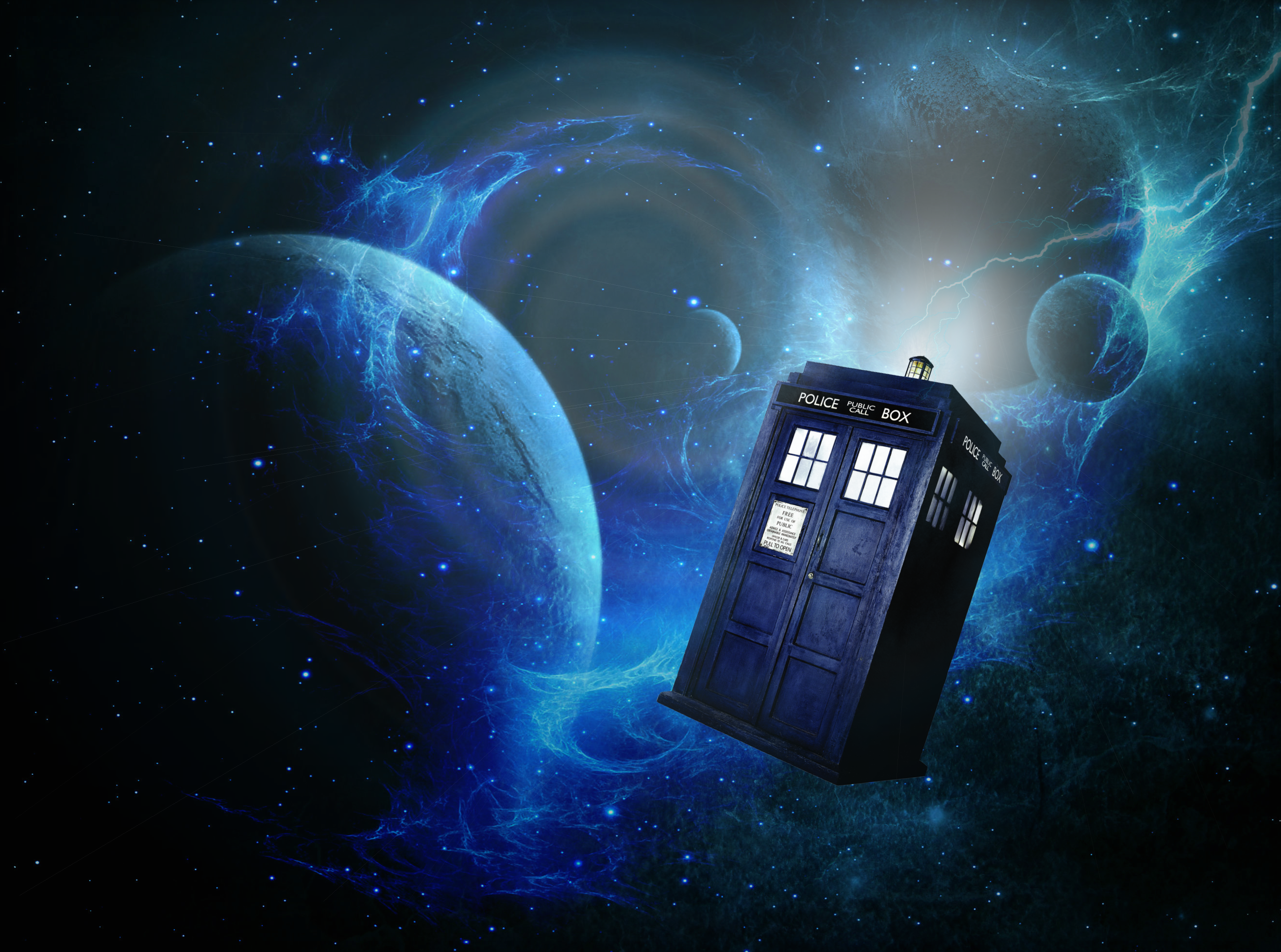 Doctor Who Wallpaper Tardis In Space  Doctor Who  Doctor -6920