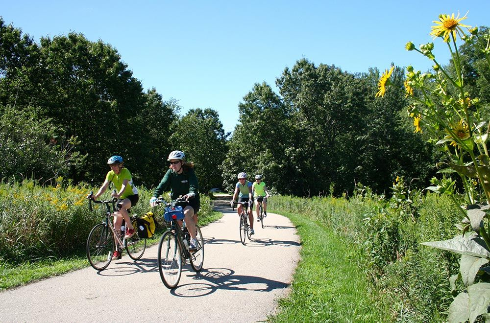 The Wisconsin Town That S A Nationally Recognized Bicycling