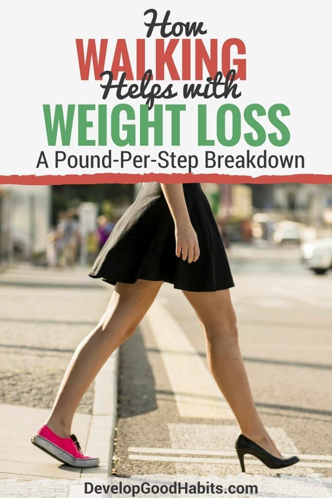 can you lose weight by walking a lot