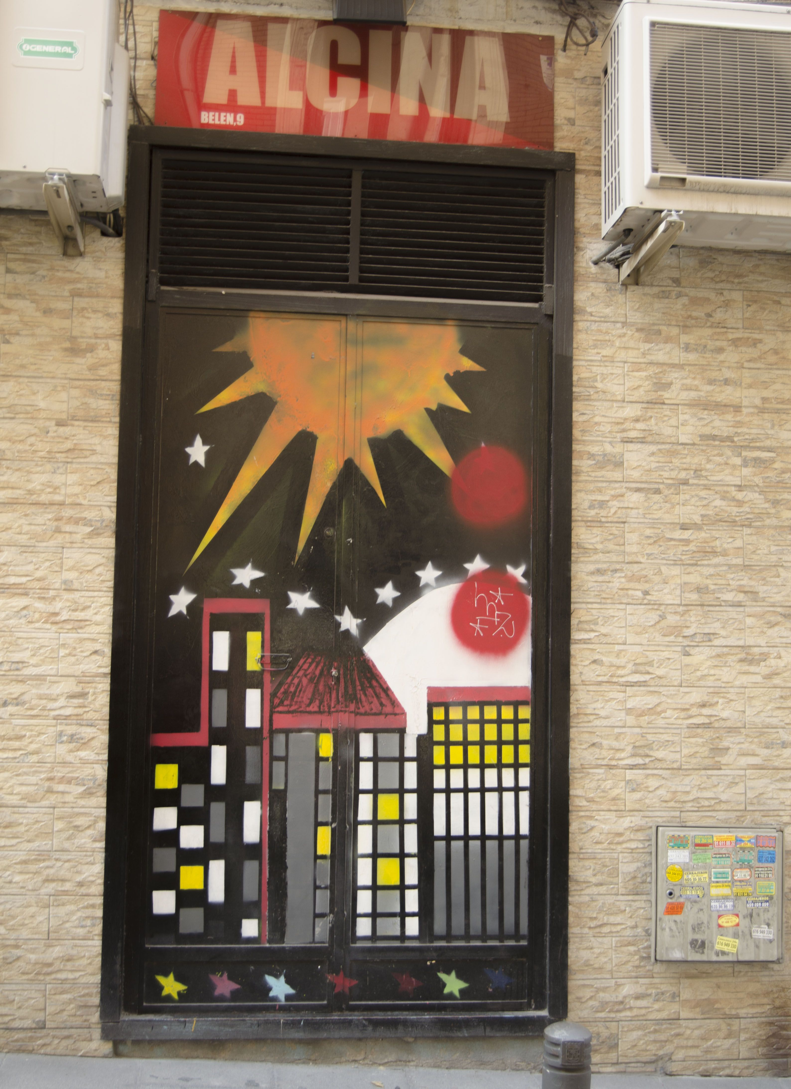 Calle Belén.  Barrio de Chueca. Madrid. 2015.