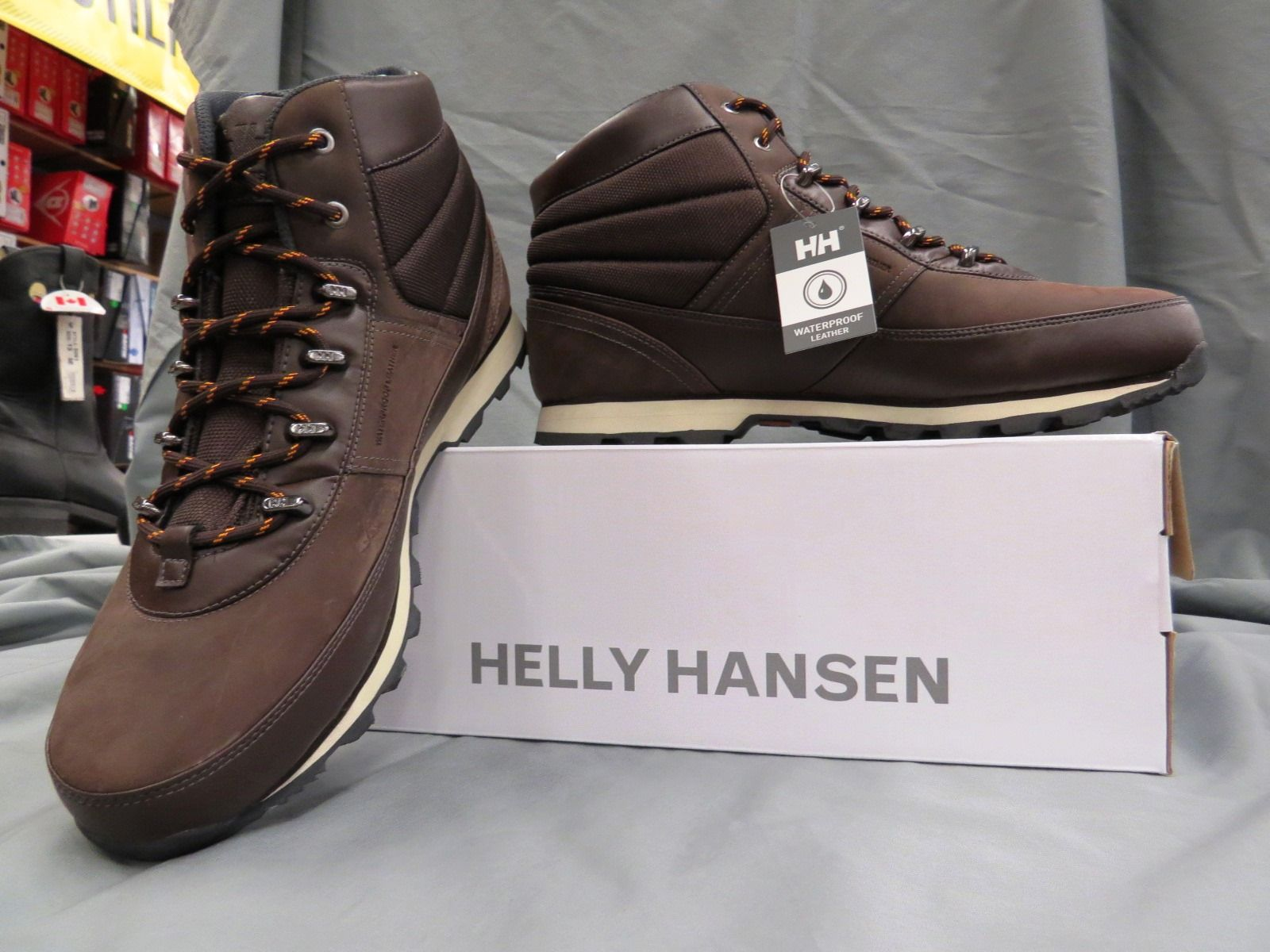 Skate shoes ankle support - Ankle Support And Water Resistant Plus Comfort And Made To Last From Hellyhansen