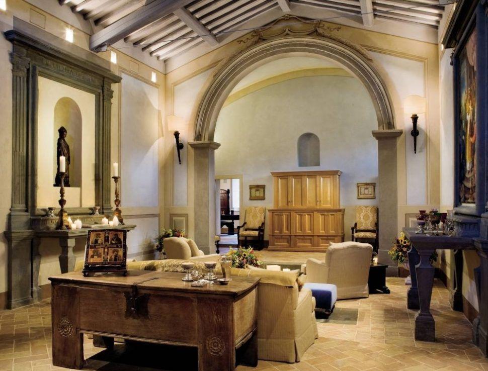 Interior Rustic Mediterranean Living Room Interior Design Ideas