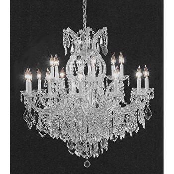 Chandelier Crystal Lighting Empress Tm Chandeliers H38 W37