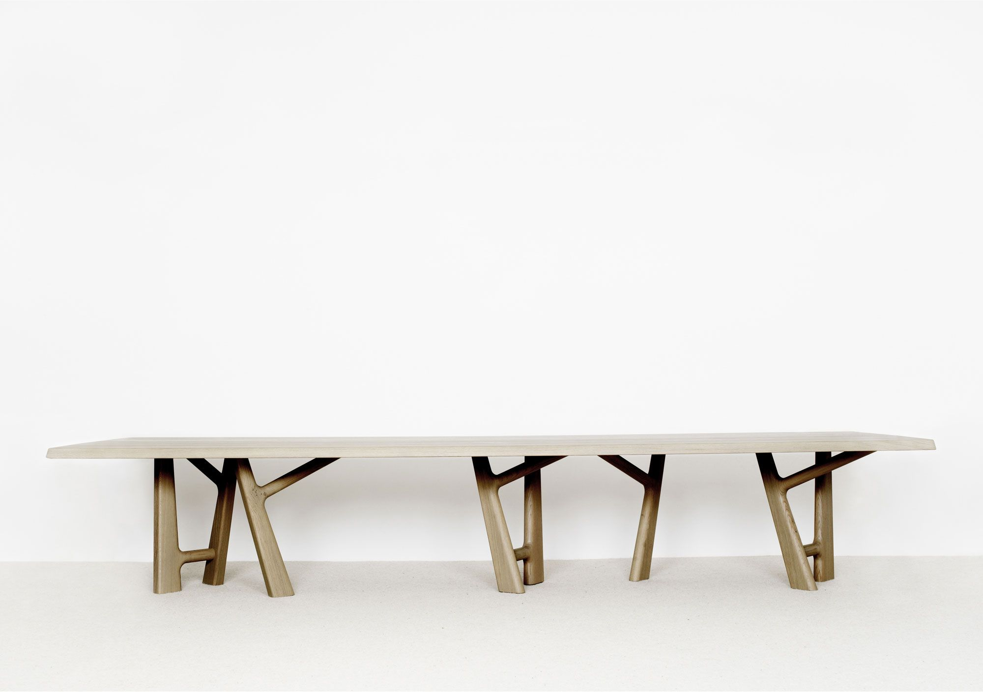 Corian & Walnut Dining Table by S¸ren Nissen and Ebbe Gehl Naver