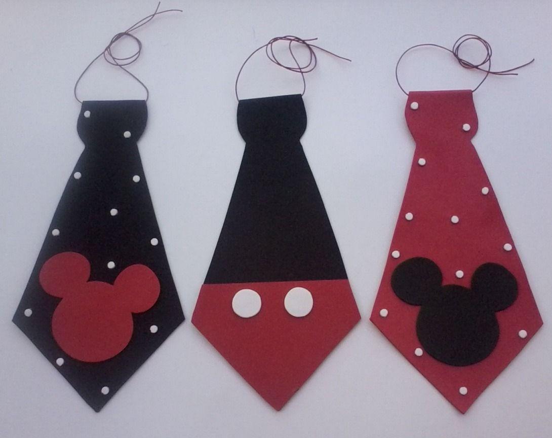 Cintillos de minnie mouse y corbatas de mickey mouse para - Manualidades minnie mouse ...