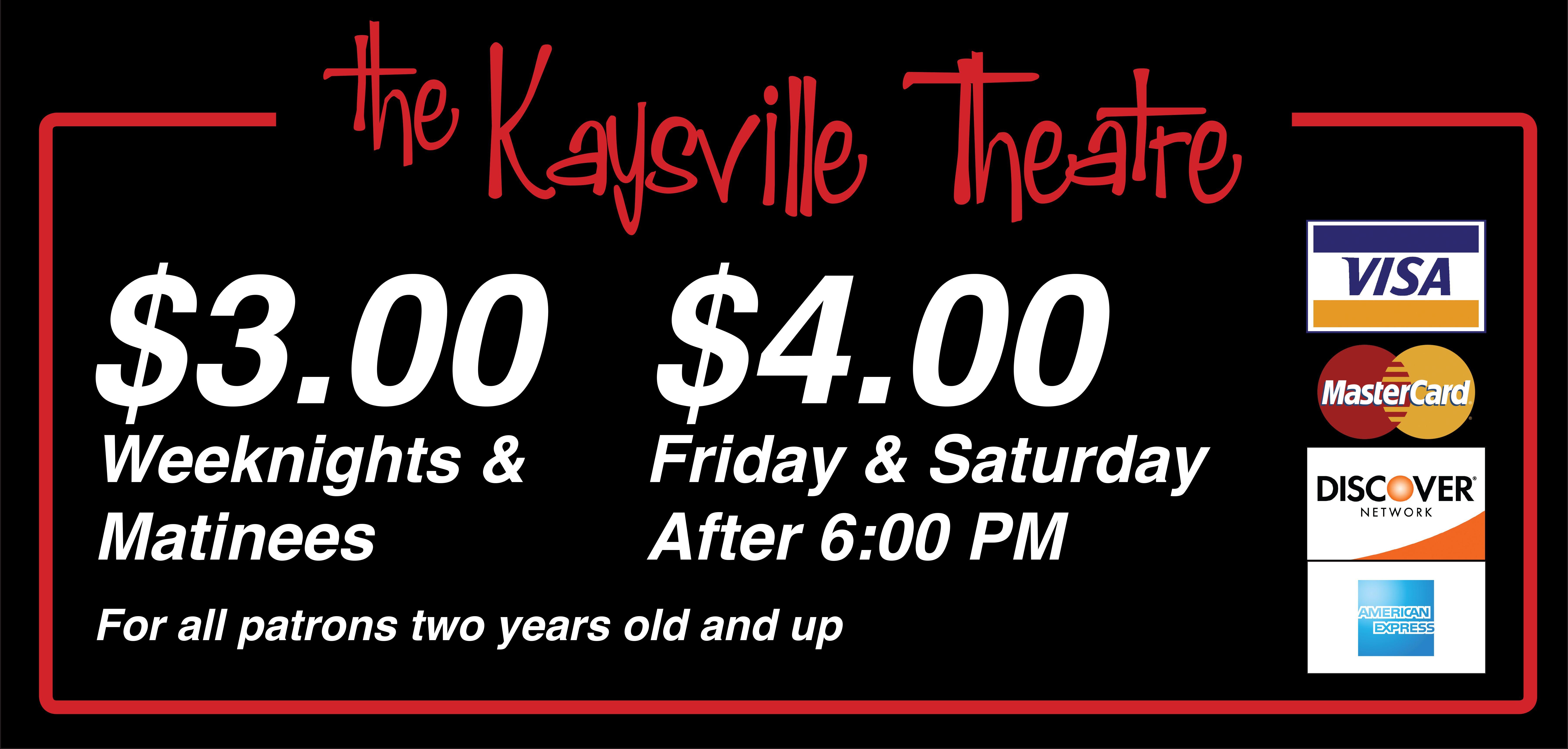 Discount movie theater in kaysville ut the kaysville