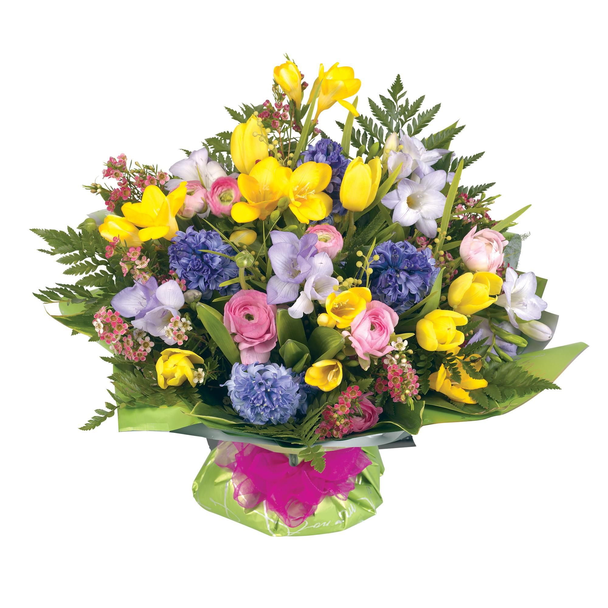 Flowers Bouquet Birthday Hd Wallpapers Spring Flower Bouquet Birthday Flowers Bouquet Flowers Bouquet