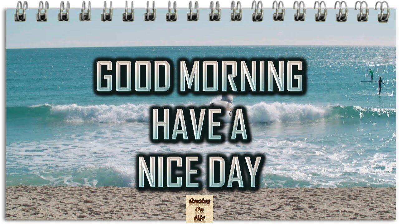 Good Morning Wishes Animated Ecard Greetings Whatsapp Video