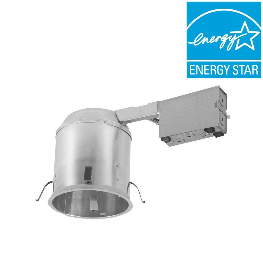 Halo H750 6 In Aluminum Led Recessed Lighting Housing For Remodel Ceiling T24 Compliant Insulation Contact Air Tite H750ricat Recessed Lighting Led Recessed Lighting Remodel