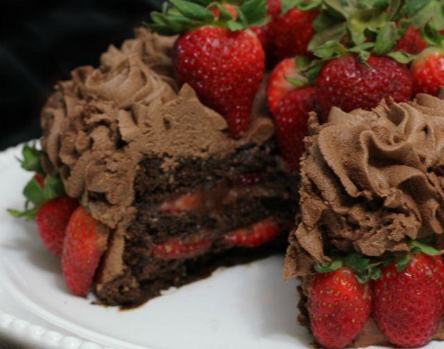 Ultimate Chocolate Birthday Cake glutenfree dairyfree eggfree