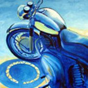 Photo of Royal Enfield Canvas Print / Canvas Art by Janet Oh