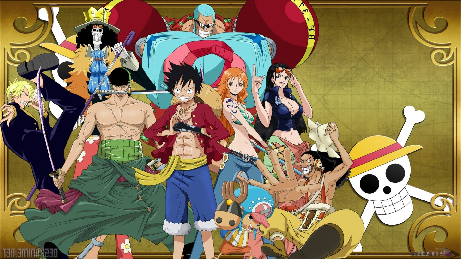 One Piece Stampede Wallpaper 4k