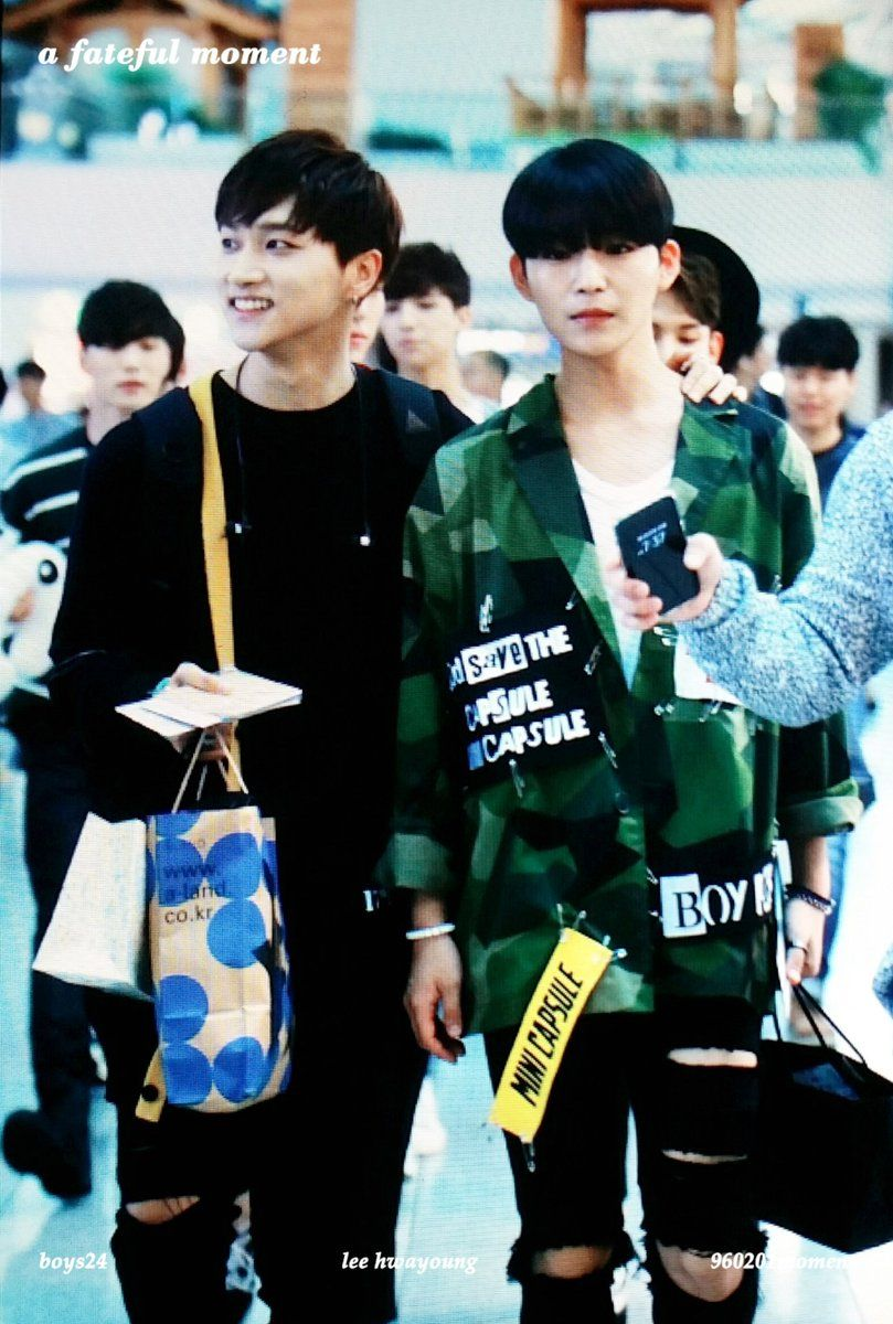"a fateful moment on Twitter: ""160910 ICN #화영 #이화영 #소년24 https://t.co/2NXqAlJFzG"""