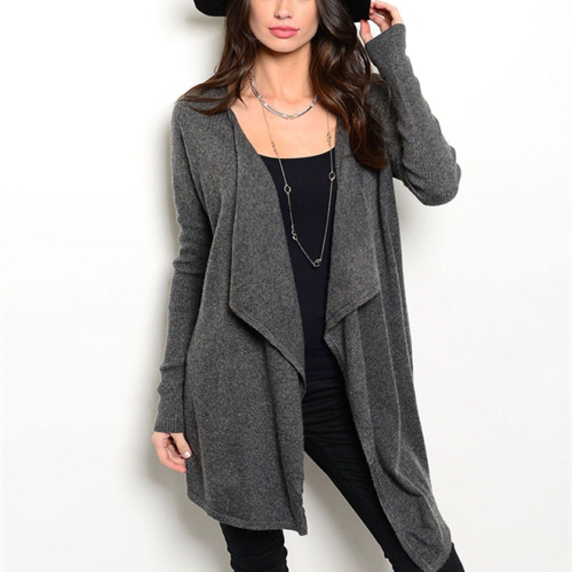 Gracie Gray Sweater / Cardigan | Fashionable Cardigan/Kimono ...