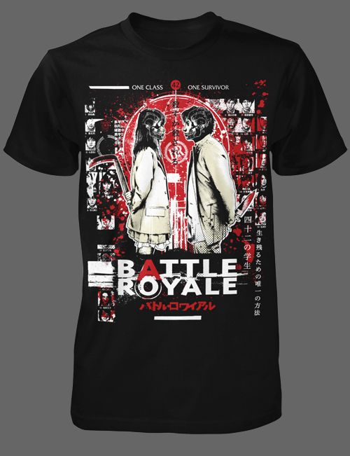c066edf951f Battle Royale Horror T-Shirts   FRIGHT-RAGS  Jason Carmona