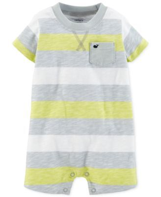 3d074f82418b9 Carter's Baby Boys' Striped Slub Romper | Morgan baby nursery ...