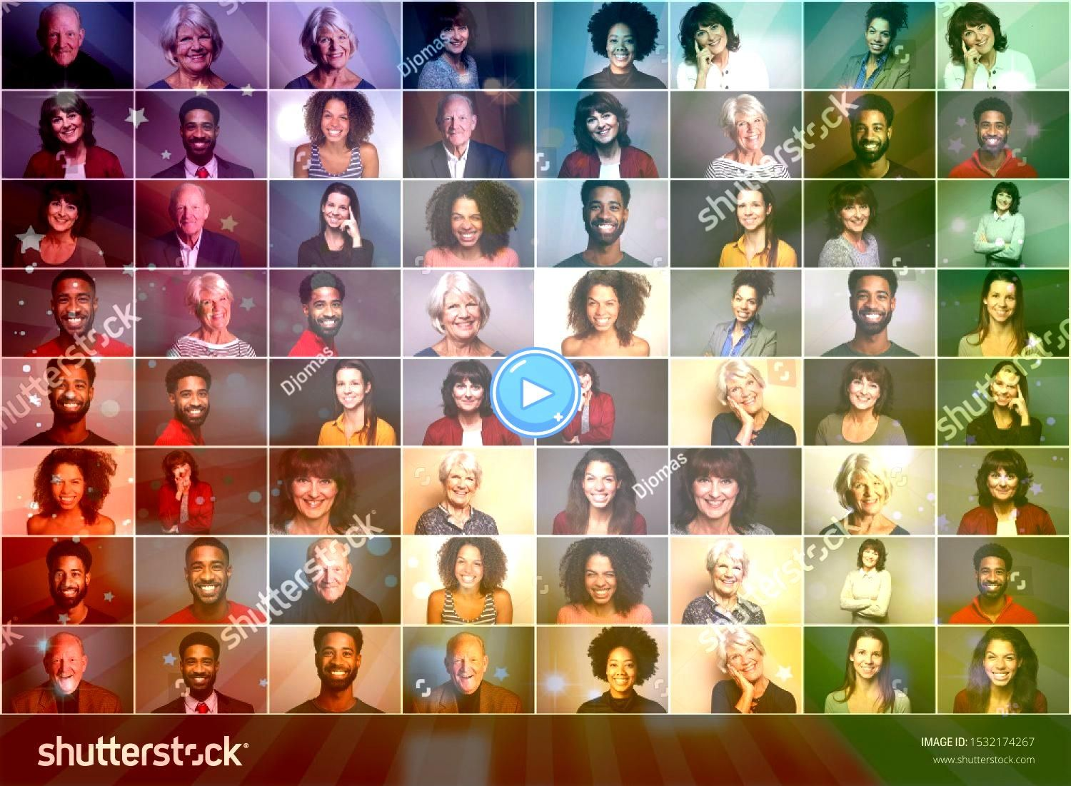of 6 different people in front of a colored background Group of 6 different people in front of a colored background  98 degrees must have been thinking about him when the...