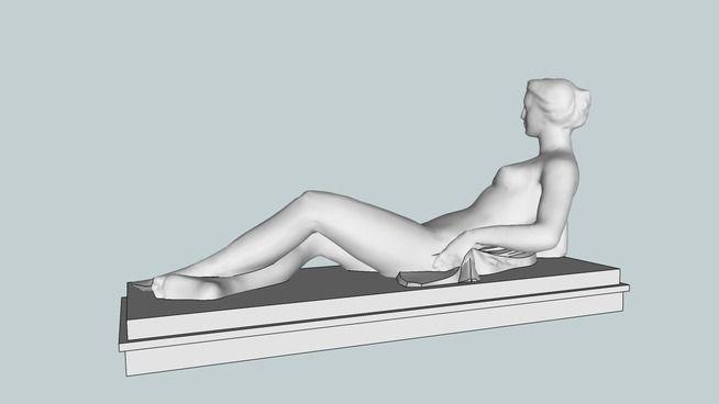 Statue at Izmir International Fair - 3D Warehouse